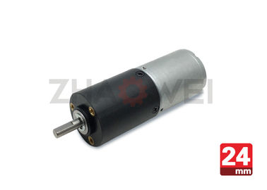 High Torque DC Gear Motor 12V For Automatic Teller Machine , Energy Saving