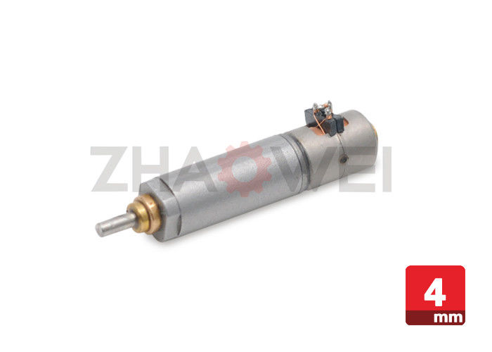 3 Volt 4mm Gear Reduction Electric Motor , Micro Metal Planetary Gearmotor