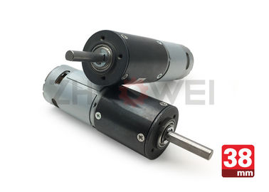 چین 38mm Automobile DC Motor , 6V 24V 12V Planetary Gear Motor With 4nm High Torque توزیع کننده
